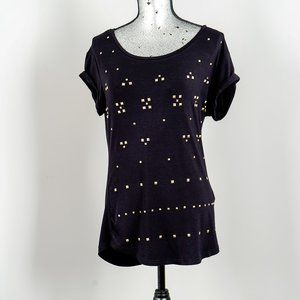 NWOT Point Zero studded T shirt - Medium